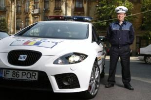 Seat Leon Cupra w Rumuńskiej Policji